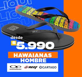 HAWAIANAS HOMBRE Desde $5.990
