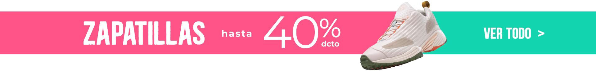 ZAPATILLAS > HASTA 40% DCTO > VER TODO