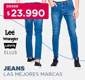 JEANS LAS MEJORES MARCAS DESDE $23.990