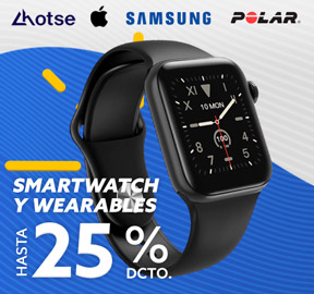 Smartwatch y Wearables Hasta 25% DCTO