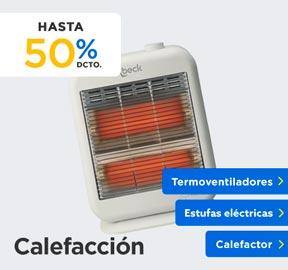 CALEFACCIÓN HASTA 25% DCTO en hites.com