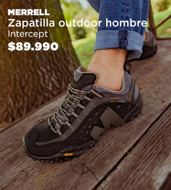 Zapatilla Outdoor  Hombre Intercept