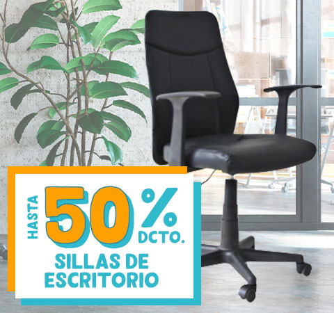Sillas de Escritorio HASTA 50% DCTO