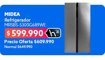 Refrigerador MRSBS-5300G689WE en hites.com