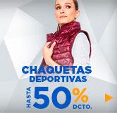 chaquetas y parkas deportivas mujer en hites.com