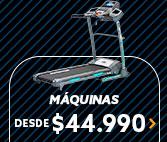 MAQUINAS DESDE $44.990