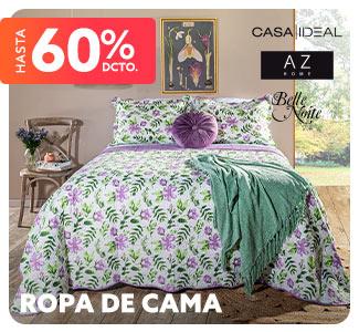ROPA DE CAMA Hasta 60% Dcto.