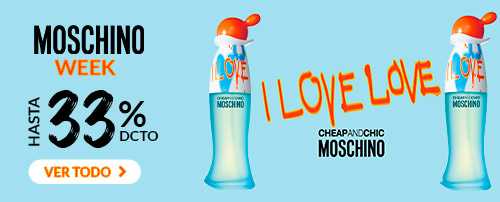 MOSCHINO WEEK HASTA 33% DCTO