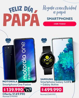 SMARTPHONES  REGALA CONECTIVIDAD A PAPÁ EN HITES.COM