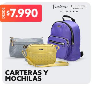 CARTERAS Y MOCHILAS DESDE $7.990 en hites.com
