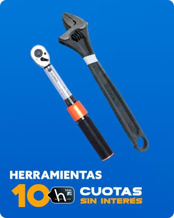 HERRAMIENTAS 10 CUOTAS SIN INTERÉS