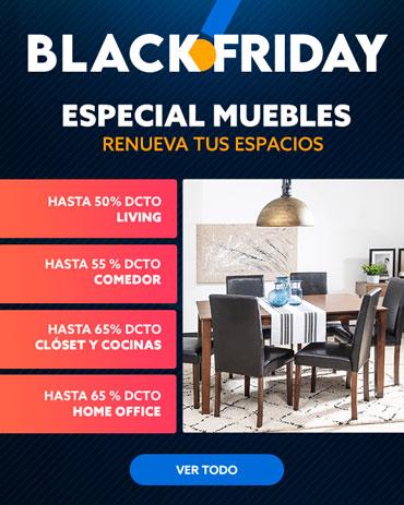 RENUEVA TUS ESPACIOS ESPECIAL MUEBLES Blackfriday en hites.com