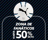 ZONA DE FANATICOS HASTA 50% DCTO
