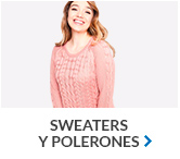 sweaters y polerones mujer en hites.com