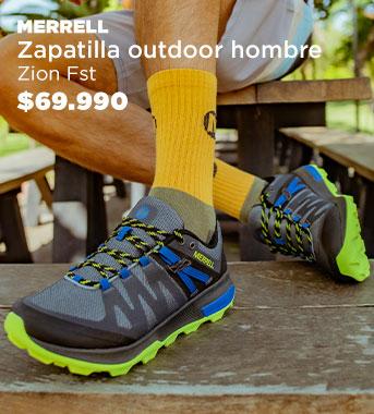 """""""Zapatilla Outdoor  Hombre Zion Fst"""""""