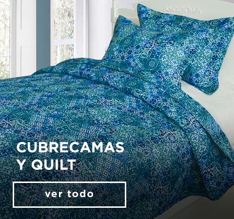 CUBRECAMAS  Y QUILT