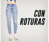 JEANS CON ROTURAS hites.com