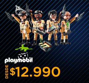 PLAYMOBIL DESDE $12.990