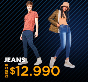 JEANS DESDE $12.990