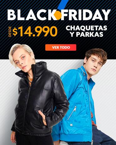 CHAQUETAS Y PARKAS blackfriday en hites.com