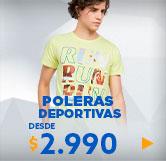 poleras deportivas hombre en hites.com