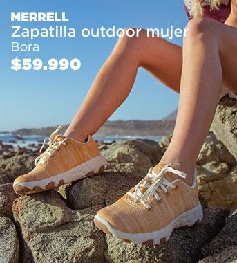 Zapatilla Outdoor  Mujer Bora