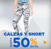 calzas y short deportivos mujer en hites.com