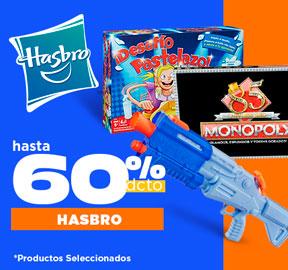 HASBRO Hasta 60% dcto