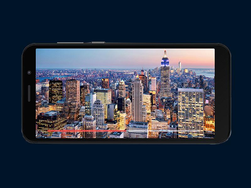 """Pantalla Max Vision HD+ de 5.5"""""""