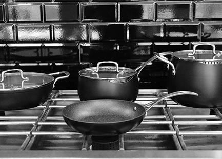 brann cookware bateria de cocina
