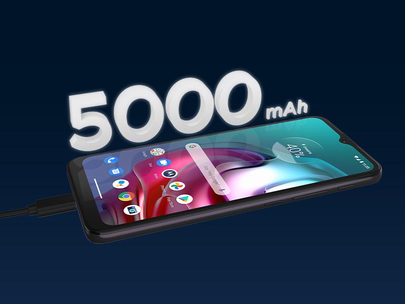 smartphone moto G30, Batería y carga