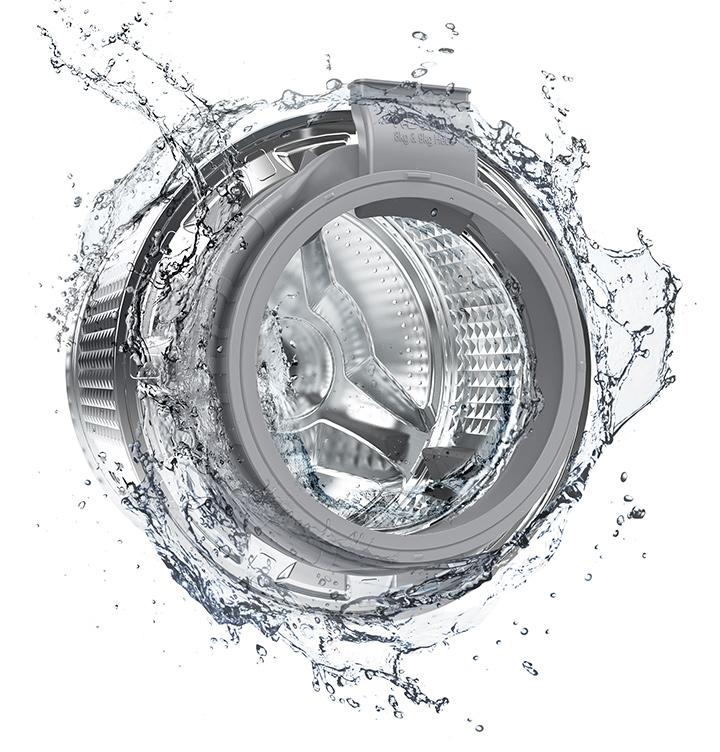 Samsung Lavadora/Secadora de 9.5/6 kg con Eco Bubble™, WD95T4046CX/ZS