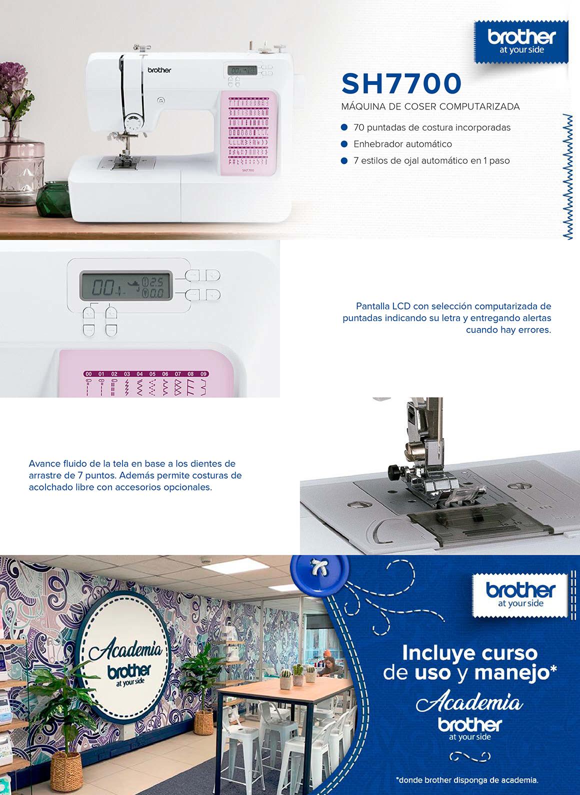 Maquinas de coser Brother en Hites.com