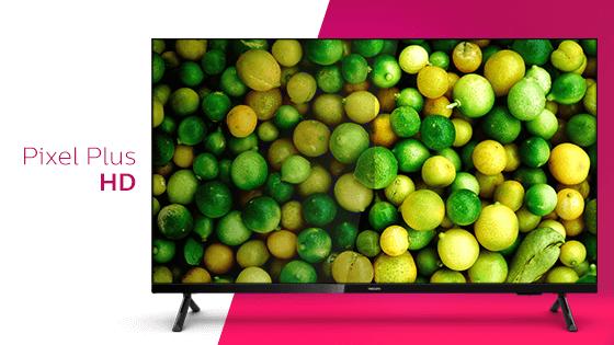Pixel Plus HD. Imágenes nítidas, independientemente de la fuente que se utilice.