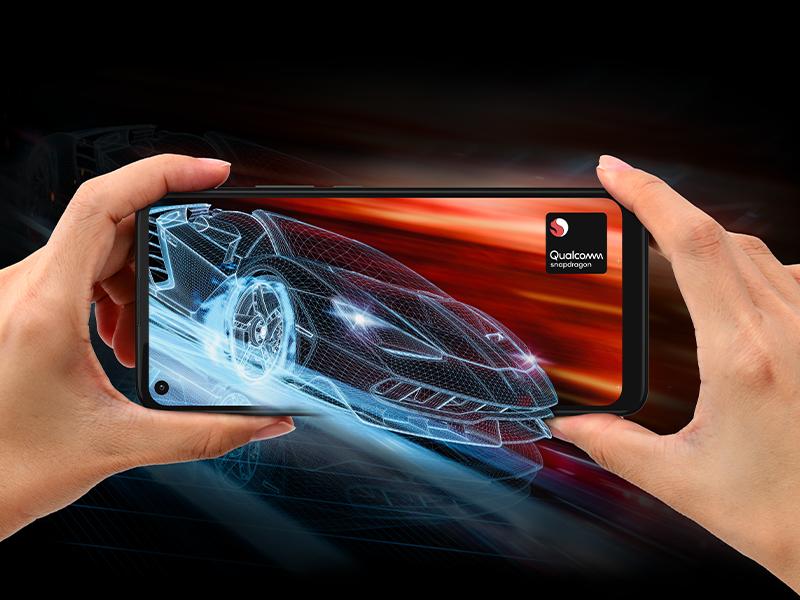 smartphone moto G9 Power, procesador Qualcomm® Snapdragon™.