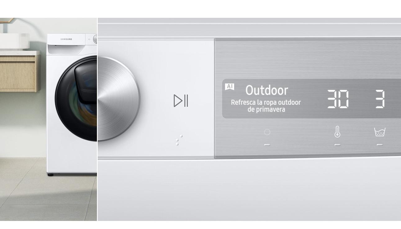 Samsung Lavadora/Secadora de 12.5/7 kg con AI Control, WD12T754DBN/ZS
