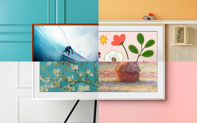QLED Samsung 50' The Frame 4K UHD Smart TV 2021