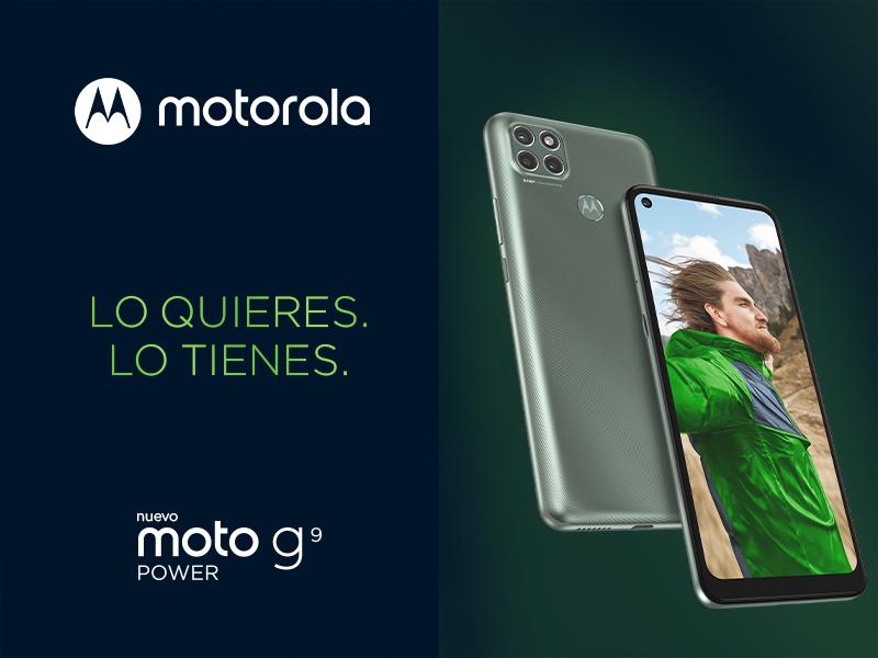 smartphone moto G9 Power