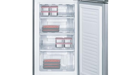 Cajones en el freezer